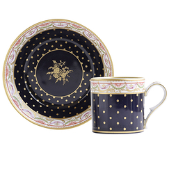 Bouquet de la reine Tea cup and saucer