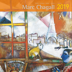 Calendrier grand format - Marc Chagall 2019