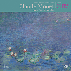 "Calendrier grand format - Claude Monet ""Nymphéas"" 2019"
