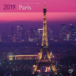 Calendrier grand format - Paris 2019