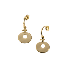 Glod Plated Lydian Earrings - Small