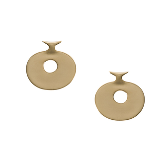 Gold plated Lydian Earrings