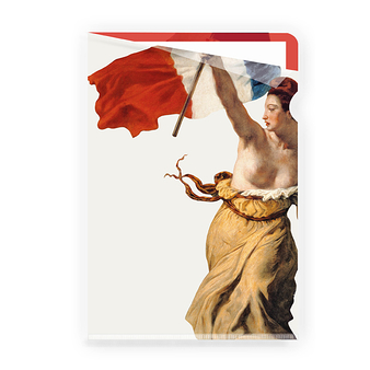 "Delacroix ""Liberty Leading the People "" - Clear file A4"