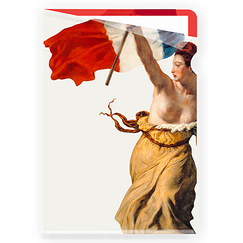 Liberty Leading the People Delacroix Clear file - A4