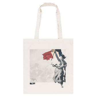 "Tote bag Delacroix ""Liberty Leading the People """