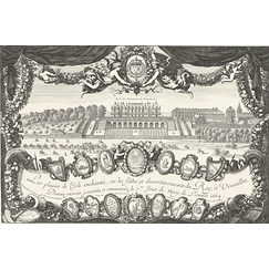 Frontispiece with the Palace of Versailles - Israël Silvestre