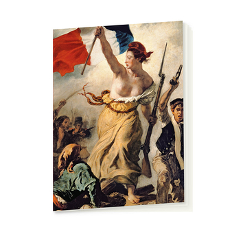 "Notebook - Delacroix ""Liberty Leading the People"""