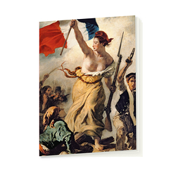 "Delacroix ""Liberty Leading the People"" Notebook"