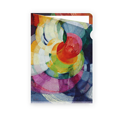 "Kupka ""Disks of Newton"" - Clear file A4"