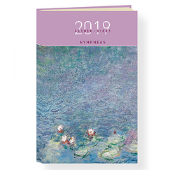 Agenda 2019 Monet Nymphéas