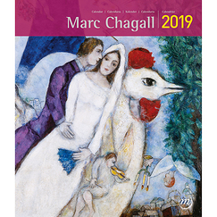 Calendrier petit format - Marc Chagall 2019