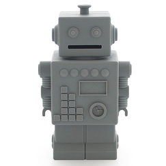 Money bank Robot - Grey