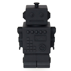 Money bank Robot - Black