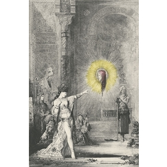 The apparition: Salome and the head of Saint John the Baptist - Gustave Moreau