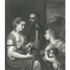 Allegory in honour of Alphonse d'Avalos, Marquis de Guast