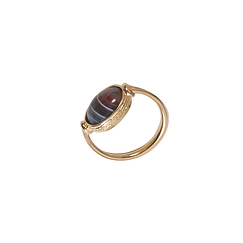 Gold Plated Carthage Ring