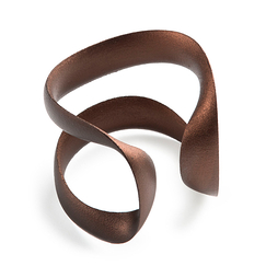 Flow Bracelet - Metallic copper