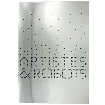 "Notebook ""Artists and robots"""