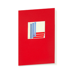 Three blues and three reds Kupka Notebook