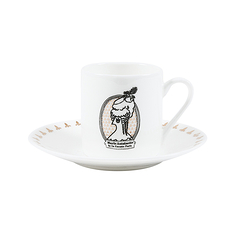 2 coffee cups and saucer Marie-Antoinette