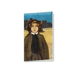 "Small notebook - Walter ""Young peasant girl"""