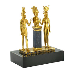 La Triade d'Osiris - Bronze