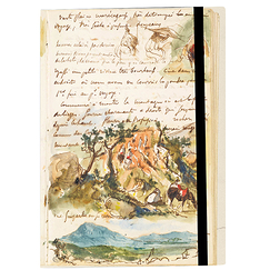 "Delacroix notebook ""Riders"""