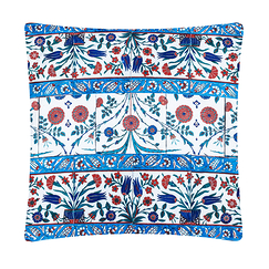 Cushion Iznik Floral Frieze