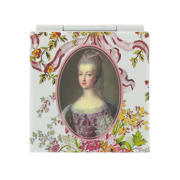 Pocket mirror Marie-Antoinette