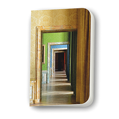 "Yellow small notebook ""Enfilade"""