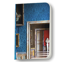 "Blue small notebook ""Enfilade"""