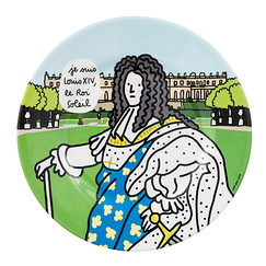 Louis XIV Plate I am Louis XIV, the Sun King