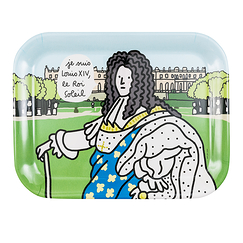 Louis XIV Tray I am Louis XIV, the Sun King