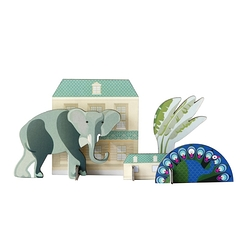 King's menagerie Pop out card - Elephant