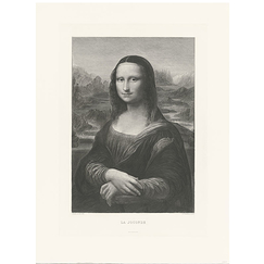 Portrait de Mona Lisa (La Joconde)