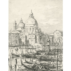 Church of the Salute in Venice - Henri-Lucien Cheffer