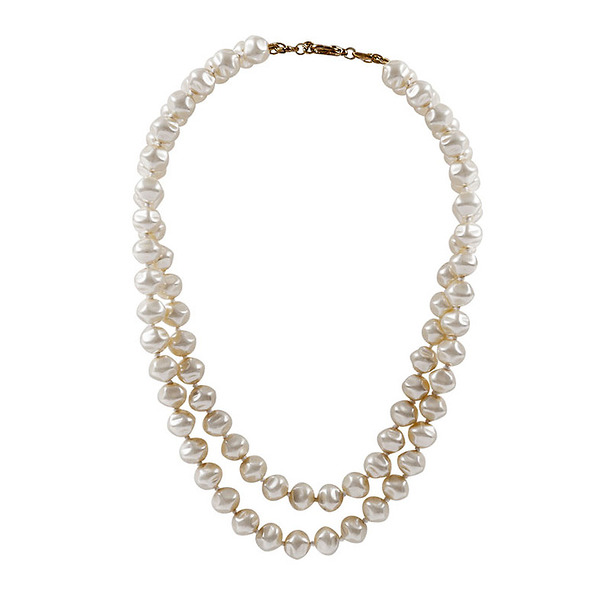 Queen Pearls's necklace - Double row