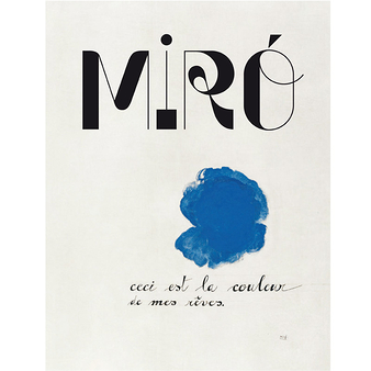 Miró - Catalogue d'exposition