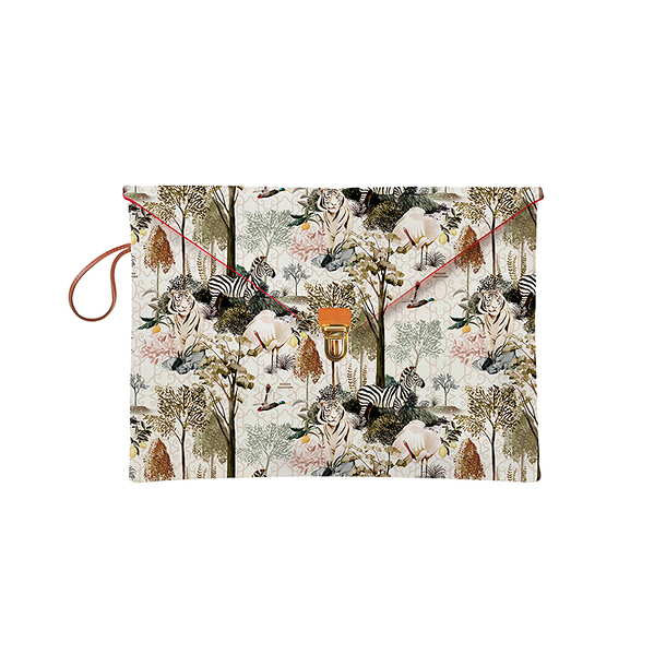 "Laptop sleeve 13"" Ménagerie Royale - White"