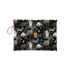 "Laptop sleeve 13"" Ménagerie Royale - Black"