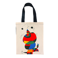 "Bag Miró ""Woman, Bird, Star"""