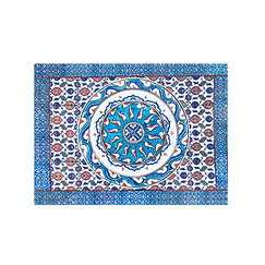 Set de table Iznik Fond turquoise