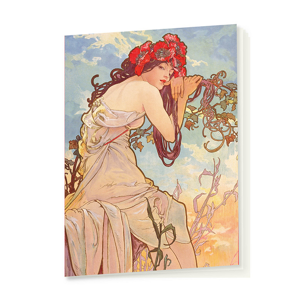 Summer Mucha Notebook