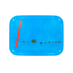Serving tray Miró Bleu II