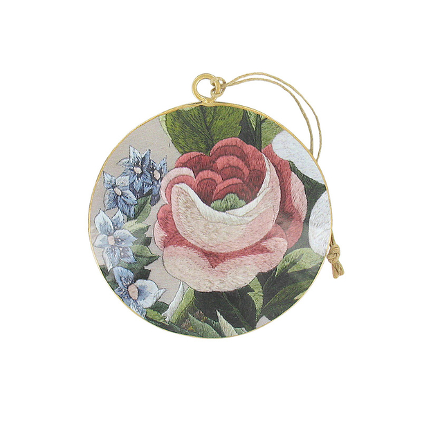Suspension Rose et bleuets Marie-Antoinette