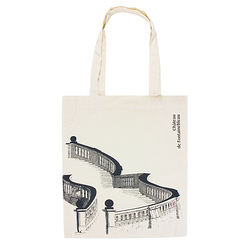 Stairs Fontainebleau Tote bag