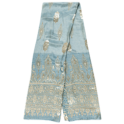 Baroque Stole - Blue