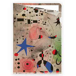The migratory bird Miró Clear file - A4