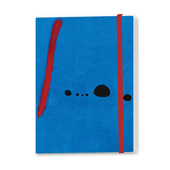 Bleu II Miró Notebook with elastic