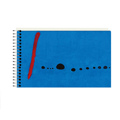 Sketchbook Miró Bleu II